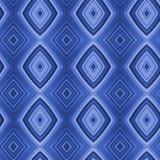 диаманты кислотных голубоев безшовные Стоковая Фотография RF
