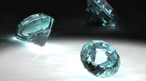 диаманты серые Стоковые Изображения RF