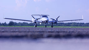 Диамант воздушные судн 42 NG на рисберме Стоковое Изображение