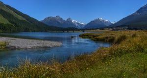 Диамант Новая Зеландия 2 озера стоковое изображение rf