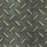 диамант предпосылки металлопластинчатый Стоковая Фотография RF