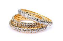 диамант bangles Стоковые Фото