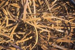 Диапазоны металла ржаветь сидя в куче Стоковая Фотография