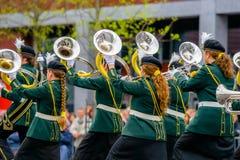 Диапазон концерта или windband выполняя во время события Стоковая Фотография RF