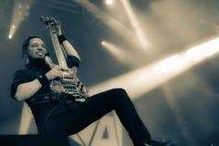 Диапазон металла Havok живет в концерте Hellfest 2016 Стоковая Фотография