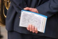 Диапазон музыки местной полиции в Милане Стоковые Фото
