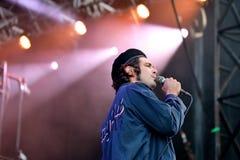 Диапазон музыки Growlers выполняет в концерте на звуке 2017 Primavera стоковая фотография