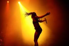 Диапазон электронной музыки Мураы Masa выполняет в концерте на фестивале FIB Стоковое Изображение