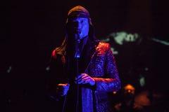 15 12 2017 Диапазон Laibach †Загреба, Хорватии «словенский, performi Стоковое Изображение