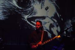 15 12 2017 Диапазон Laibach †Загреба, Хорватии «словенский, performi Стоковые Фото