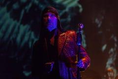 15 12 2017 Диапазон Laibach †Загреба, Хорватии «словенский, performi Стоковая Фотография