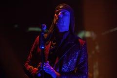 15 12 2017 Диапазон Laibach †Загреба, Хорватии «словенский, performi Стоковое Фото