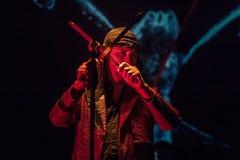 15 12 2017 Диапазон Laibach †Загреба, Хорватии «словенский, performi Стоковая Фотография RF