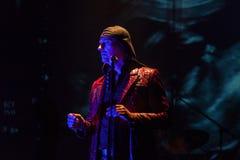 15 12 2017 Диапазон Laibach †Загреба, Хорватии «словенский, performi Стоковое Изображение RF