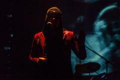 15 12 2017 Диапазон Laibach †Загреба, Хорватии «словенский, performi Стоковые Изображения RF