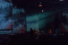 15 12 2017 Диапазон Laibach †Загреба, Хорватии «словенский, performi Стоковые Изображения