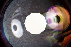 Диафрагма апертуры объектива фотоаппарата Селективный фокус с малой глубиной поля Стоковые Изображения