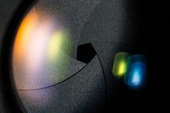 Диафрагма апертуры объектива фотоаппарата Стоковая Фотография RF