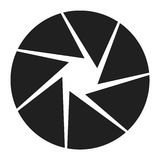 диафрагма камеры лезвия Стоковое Фото