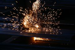 Диез металла стоковое изображение