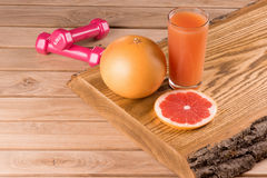 Диета грейпфрута Стоковые Изображения