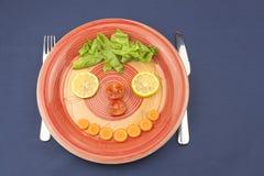 Диета завтрака, потеря веса стоковая фотография rf