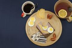 Диета завтрака, потеря веса стоковые фото