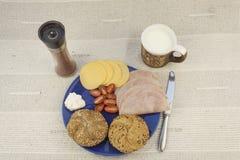 Диета завтрака, потеря веса стоковое изображение