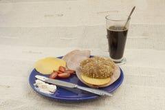 Диета завтрака, потеря веса стоковая фотография