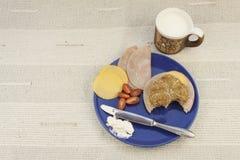 Диета завтрака, потеря веса стоковое изображение rf