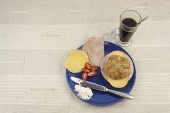 Диета завтрака, потеря веса стоковые изображения