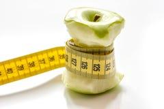 Диета концепции и потеря веса на белой предпосылке стоковые фото