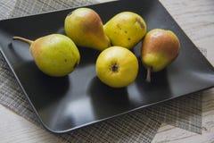 Диетическая еда: груши Стоковое Изображение