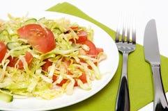 диетический обед стоковое изображение