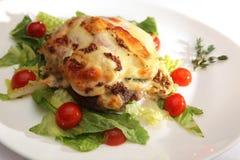 диетическое мясо тарелки Стоковая Фотография