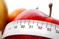 диетпитание яблока Стоковое Фото