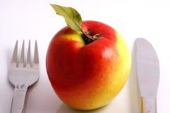 диетпитание яблока Стоковое фото RF