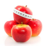 диетпитание яблок Стоковая Фотография RF
