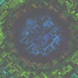 Дизайна текстуры блоков голубого зеленого цвета предпосылка случайного красочная иллюстрация штока
