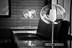 Дизайнерская лампа Стоковые Фото