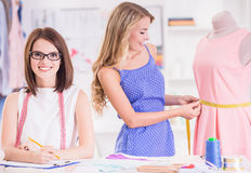 Дизайнерская одежда Стоковая Фотография