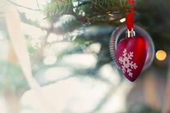 Дизайнерская предпосылка рождественской открытки Стоковые Фото
