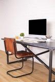 Дизайнерская сторона стола Стоковое Изображение RF