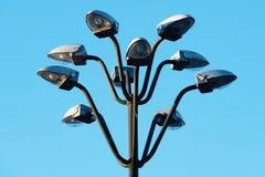 Дизайнерский фонарный столб Стоковые Фото