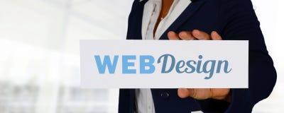 Дизайнер вебсайта стоковое фото rf
