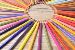 Дизайнер карандаша красочный Стоковые Фотографии RF