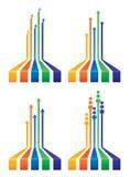 Дизайны диаграммы Стоковая Фотография
