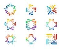 Дизайны логотипа Стоковая Фотография