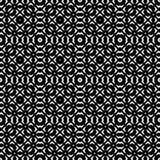 Дизайны повторения вектора черные белые Стоковая Фотография RF