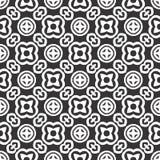 Дизайны повторения вектора черные белые иллюстрация вектора